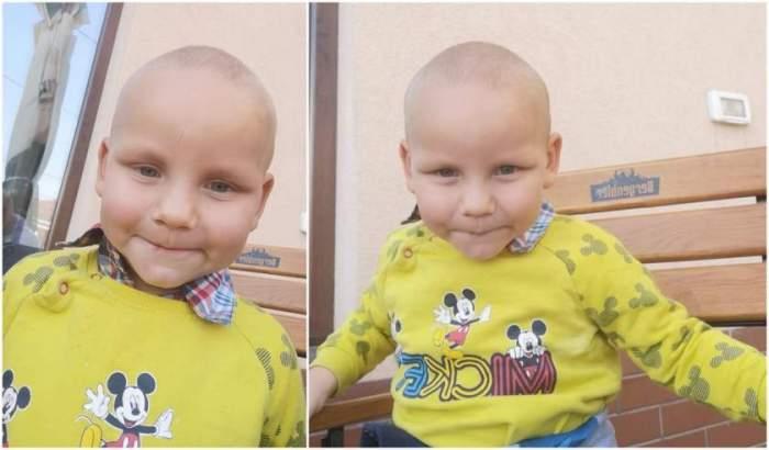 Atenţie! Copil de 3 ani găsit într-o piaţă din Arad. Îl cunoaşteţi?