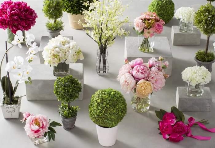 Florile artificiale, alegerea ideala pentru decorarea noii tale locuinte