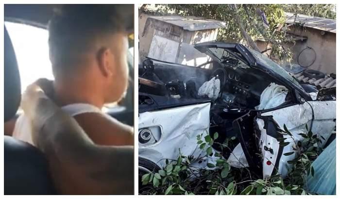 Şoferul care a spulberat o familie într-o curte, apoi a sărit cu maşina peste casă, a fost eliberat din arest. Ce se întâmplă cu el