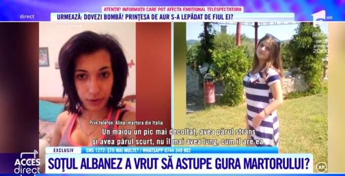Românca din Italia, care ar fi stat de vorbă cu Alexandra Măceşanu, a fost bătută cu bestialitate de fostul soţ, după ce a oferit informaţii în anchetă