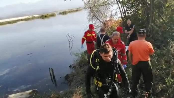 Tânărul aruncat în Olt dintr-un TIR în flăcări, găsit mort