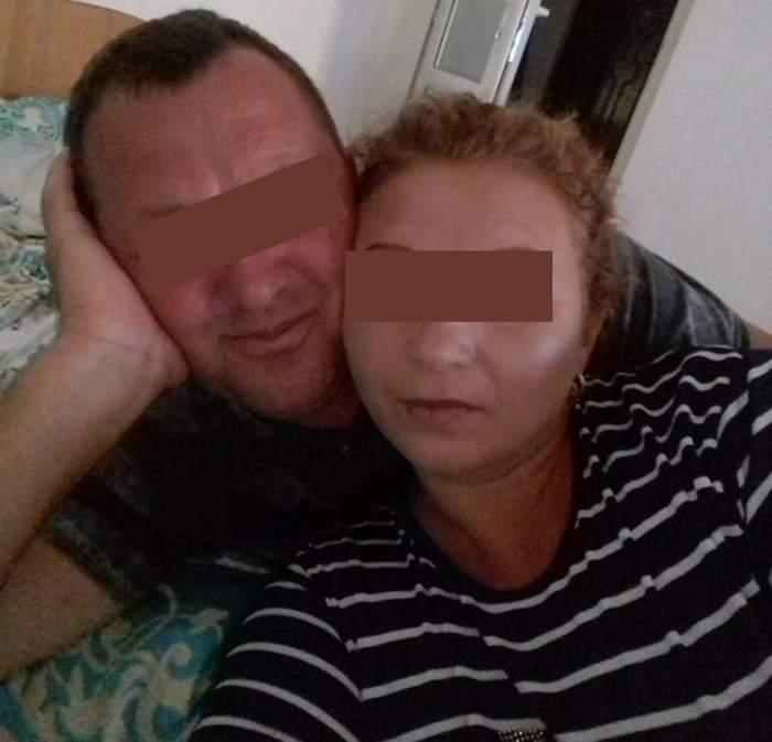 Ultima imagine cu Coca, femeia ucisă de soţ într-un sat din Vaslui! Venise în ţară în concediu