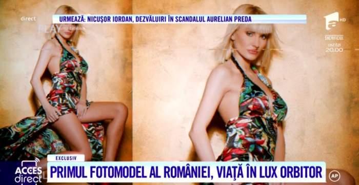 Primul fotomodel din România trăieşte pe picior mare. Cum a ajuns să arate, la 15 ani de când făcea senzaţie pe podiumurile de modă