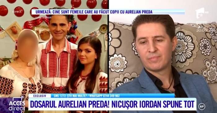 Nicuşor Iordan, prima reacţie oficială în scandalul cu Anamaria Preda. Artistul tună şi fulgeră la adresa familiei lui Aurelian Preda