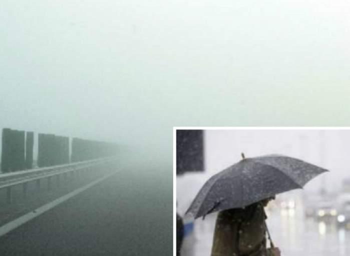 Meteorologii nu au veşti bune! ANM a emis cod galben pentru mai multe zone din ţară