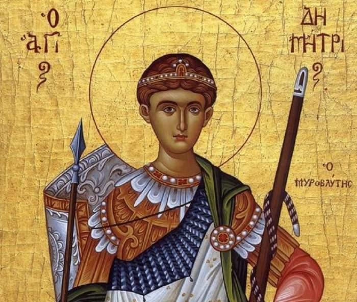 Calendar ortodox sâmbătă, 26 octombrie. Cea mai puternică rugăciune către Sfântul Dumitru