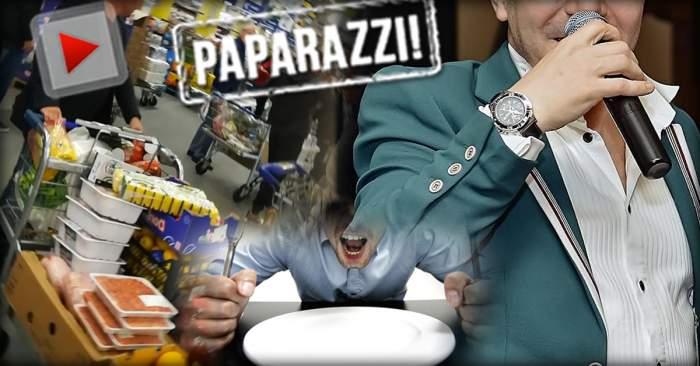 VIDEO PAPARAZZI / Actoria nu ţine de foame! Cum încearcă să-şi rotunjească veniturile un comediant celebru
