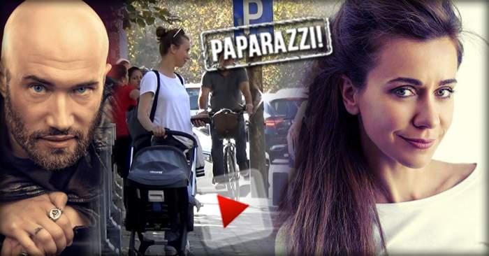 VIDEO PAPARAZZI / Imagini rare cu fosta lui Mihai Bendeac! Cum arată Andreea Vasile în rolul de mămică
