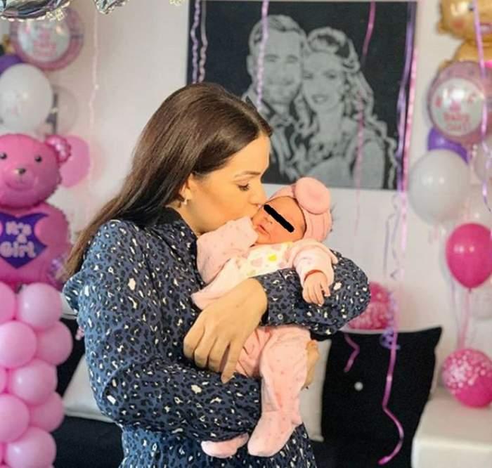 """Cea mai emoţionantă ipostază de când Deea Maxer a devenit mamă pentru a doua oară. """"O poză la care visez de o viață"""""""