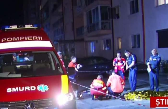O femeie de 29 de ani, medic veterinar, a murit după ce ar fi căzut de la etajul unui bloc. Tânăra era complet dezbrăcată / VIDEO