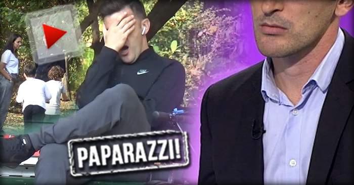 VIDEO PAPARAZZI / Imagini uluitoare cu un greu din fotbal! A ieşit cu familia în parc, dar era să adoarmă pe o bancă