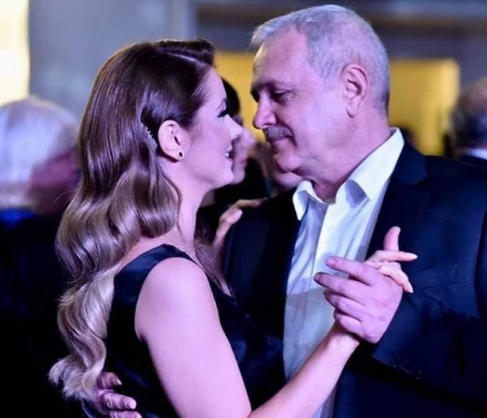 """Liviu Dragnea, surprins de iubita tinerică de ziua lui. Irina i-a făcut o declaraţie de dragoste în văzul tuturor. """"Te iubesc cu patimă"""""""