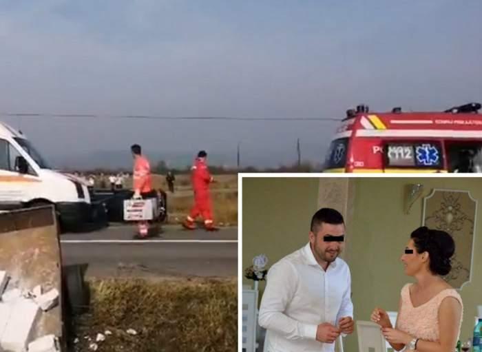 Tragedie în Bihor! Ionuţ şi Corina, părinţii unei fetiţe de 3 ani, au murit după ce maşina lor a fost lovită de un şofer care depăşea neregulamentar