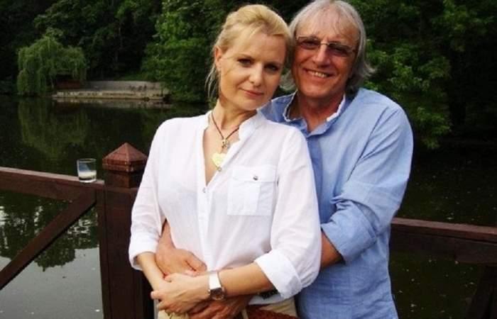 """Prima reacție a soției lui Mihai Constantinescu, după ce artistul a murit. """"Drum lin, îngerul meu"""""""