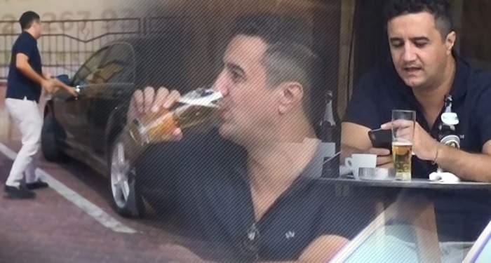 VIDEO PAPARAZZI / Imagini uluitoare cu nepotul favorit al lui Gigi Becali! Lucian a consumat alcool, apoi s-a urcat la volan