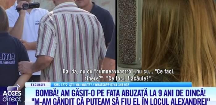 Confesiunea şocantă a tinerei care a fost abuzată de Dincă pe când avea 9 ani! A căutat-o din nou înainte de răpirea Alexandrei. VIDEO