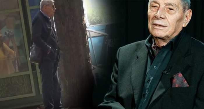 VIDEO PAPARAZZI / Tehnologia îi joacă feste lui Mitică Popescu! O puştoaică l-a scos pe celebrul actor dintr-o situaţie dificilă