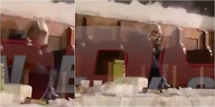 Momente sfâșietoare la priveghiul lui Mihai Constantinescu! Mirabela Dauer, în lacrimi lângă sicriul bunului ei prieten. VIDEO PAPARAZZI
