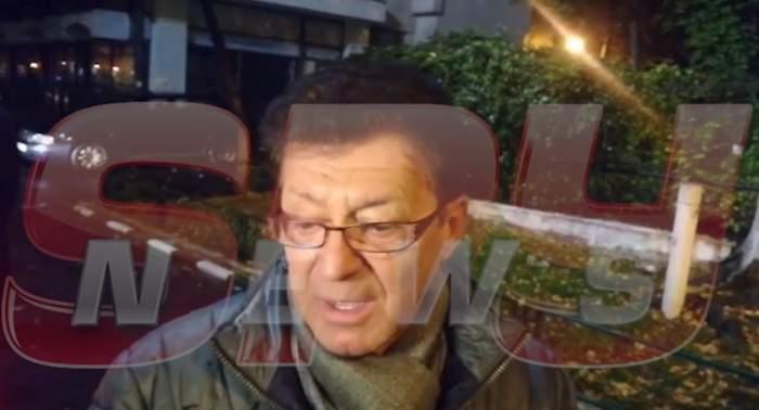 """VIDEO PAPARAZZI / Gabriel Dorobanțu, un ultim omagiu pentru Mihai Constantinescu. Artistul a venit la căpătâiul celui care a plecat într-o """"lume minunată"""""""