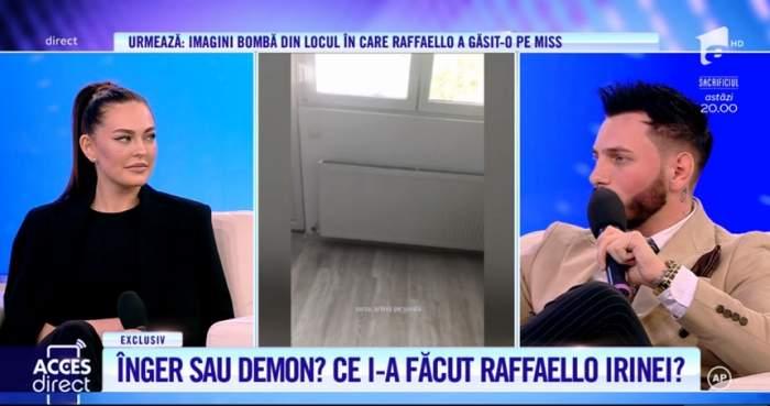 Miss Irina și Raffaello, față în față cu adevărul! Ce i-a făcut tânărul, în noaptea de care aceasta nu-și amintește / VIDEO