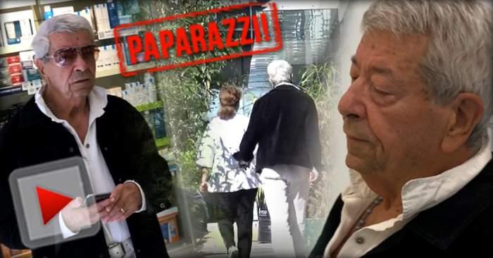 VIDEO PAPARAZZI / Probleme pentru Ion Dichiseanu?! Celebrul actor, de la farmacie, direct în faţa medicilor