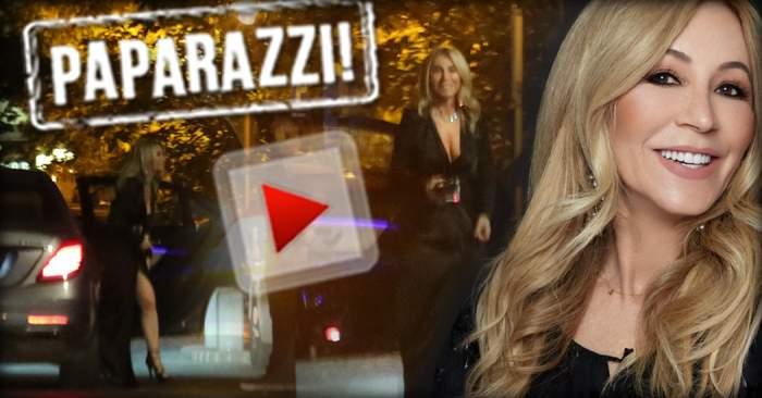 VIDEO PAPARAZZI / Ce-i mai place viaţa bună! Iată cum se răsfaţă Anastasia Soare, femeia care învârte miliardele pe degete
