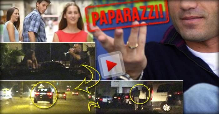 VIDEO PAPARAZZI / Imagini uluitoare cu un fotbalist celebru şi însurat! A ieşit în oraş cu o altă femeie, s-a urcat băut la volan, apoi s-a refăcut în casa domniţei