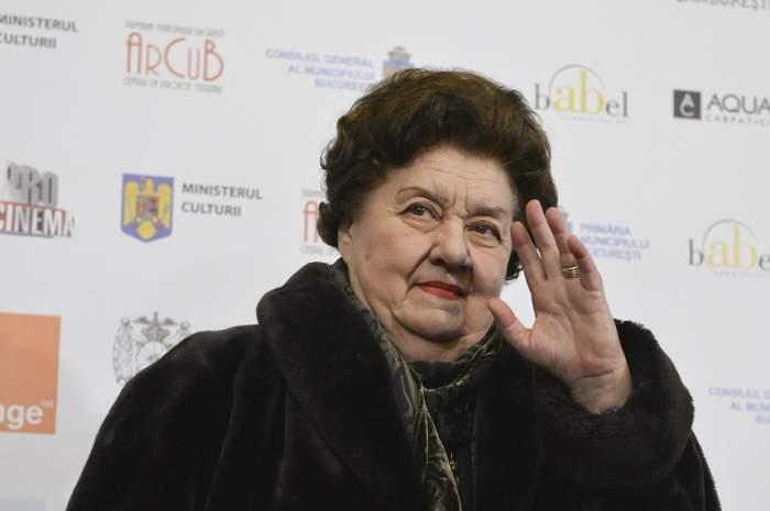 Tamara Buciuceanu rămâne internată în spital. Care este starea de sănătate a actriței