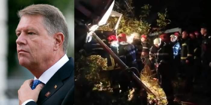 Mesajul lui Klaus Iohannis despre tragedia din Ialomiţa