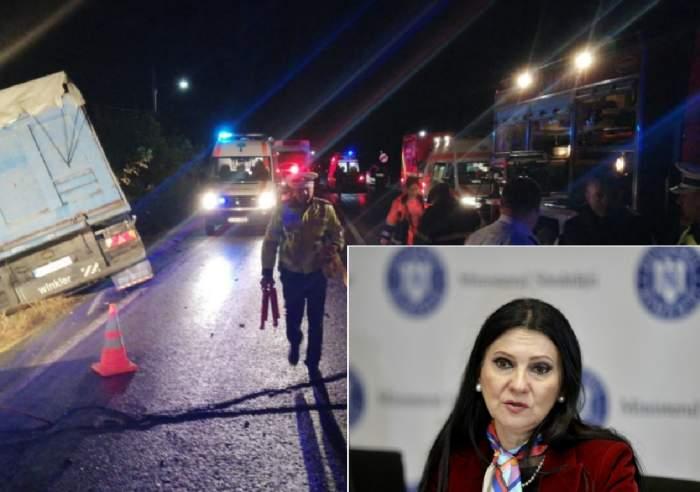 Sorina Pintea, informaţii de ultimă oră despre victimele accidentului din Ialomiţa! Ce se întâmplă în spitalele din Bucureşti