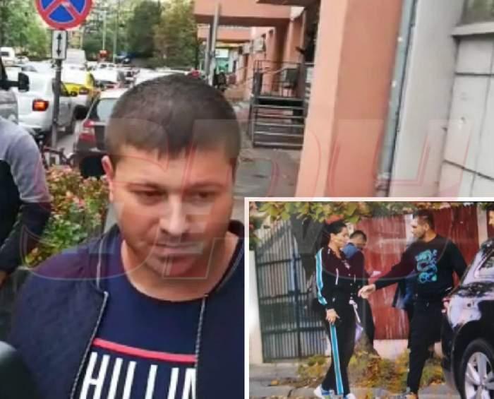 Primele informaţii din faţa secţiei de Poliţie! Florin Pastramă ar fi sărit primul la bătaie / VIDEO PAPARAZZI