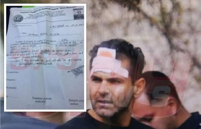 FOTO EXCLUSIV! Avem lista completă a rănilor lui Florin Pastramă! Ce scrie în certificatul de la INML