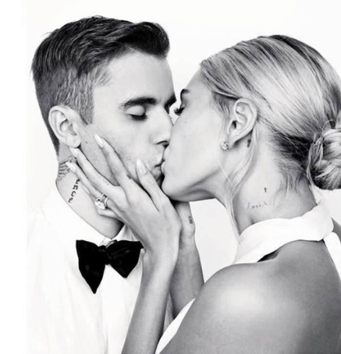 Soția lui Justin Bieber și-a făcut rochia la cel mai tare designer al lumii! Cât a plătit pentru vestimentația de lux. GALERIE FOTO