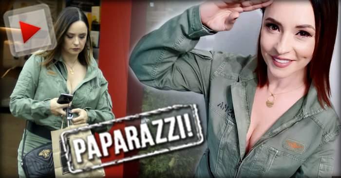 """VIDEO PAPARAZZI /Ea e cea mai provocatoare""""zână""""! Andreea Marin a mers la cumpărăturiîmbrăcată interzis de sexy"""