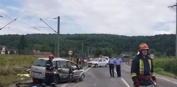 Carambol cu camioane şi maşini pe autostrada A1! Sunt 14 victime / VIDEO