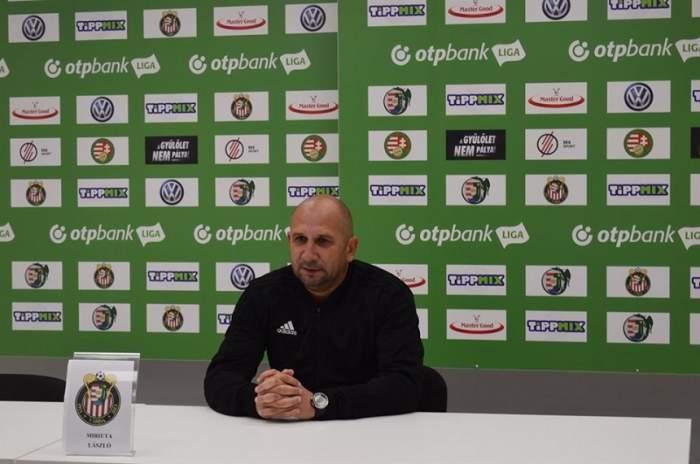 Gicu Grozav a rămas fără antrenor! Vasile Miriuţă a fost demis de la Kisvarda şi s-ar putea întoarce în Liga I
