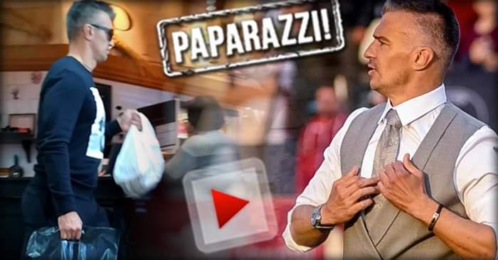 """VIDEO PAPARAZZI / E """"consumator"""" de top, iar asta e cea mai mare poftă a lui! Plăcerea nevinovată a lui Daniel Pancu"""