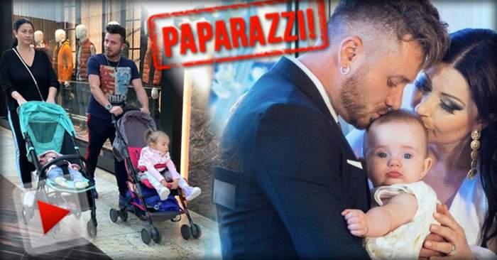 VIDEO PAPARAZZI / Aşa arată doi părinţi responsabili! Gabriela Cristea şi Tavi Clonda, nedespărţiţi de fiicele lor nici măcar atunci când vor să se răsfeţe