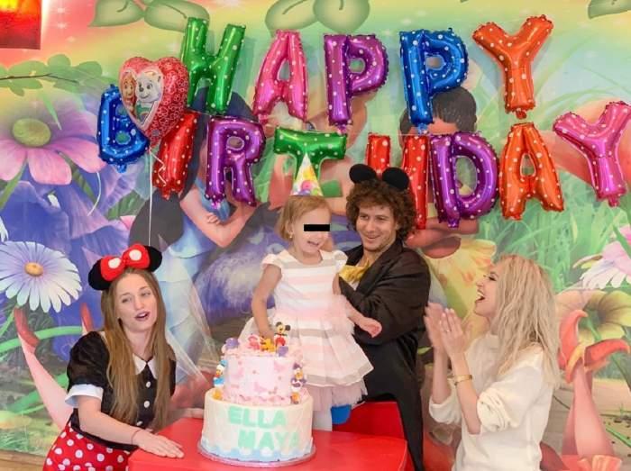 """Zi foarte importantă în familia Andreei Bălan! """"Ella împlineşte 3 ani"""" / FOTO"""