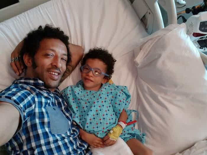 Cum se simte Leon, băieţelul lui Kamara, după a cincea operaţie