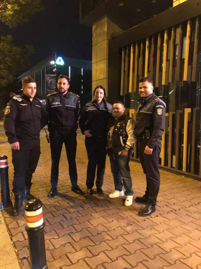 """Adrian Minune, înconjurat de oamenii legii: """"Săltat de polițiști"""". Reacția fanilor"""