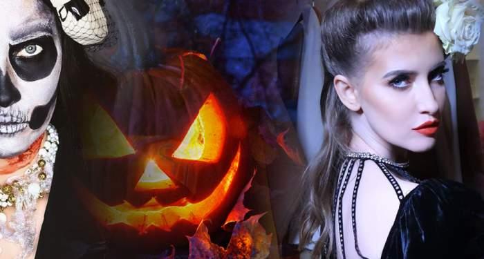 Iulia Albu, în stare de orice pentru fiica ei. S-a deghizat de Halloween şi a umblat aşa prin mall. Toţi care au văzut-o au fost şocaţi / VIDEO