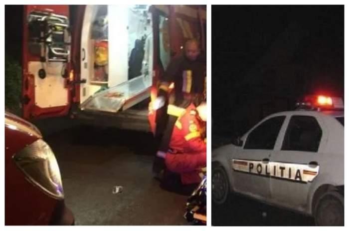 Tragedie în Vaslui. Un adolescent de 16 ani a murit, după ce căruţa în care se afla a fost lovită de un microbuz