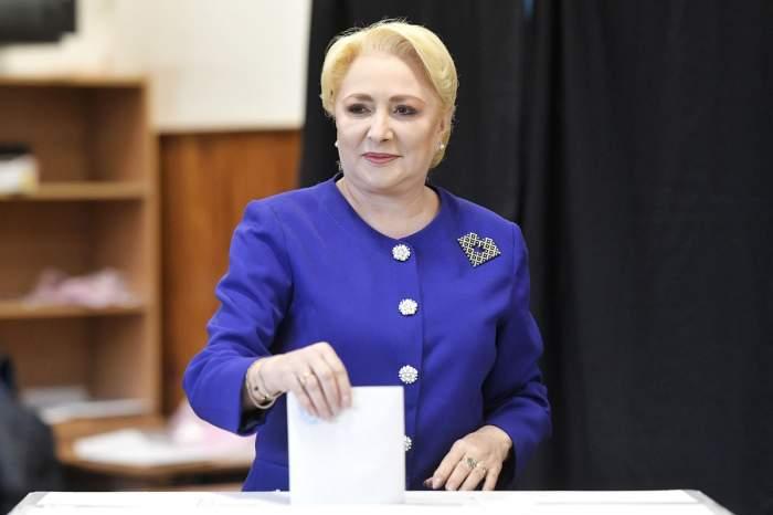 Prima declarație a Vioricăi Dăncilă, după rezultatele EXIT-POLL