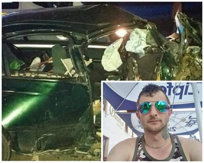 El e tânărul care a provocat accidentul din Câmpulung Moldovenesc! Andrei   a fugit de la fața locului