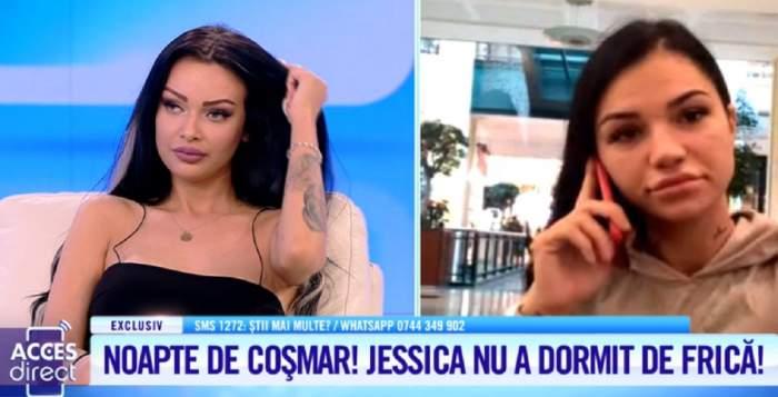 Sexy Jessica, bombardată cu mesaje de ameninţare! Bruneta nu a dormit de frică / VIDEO