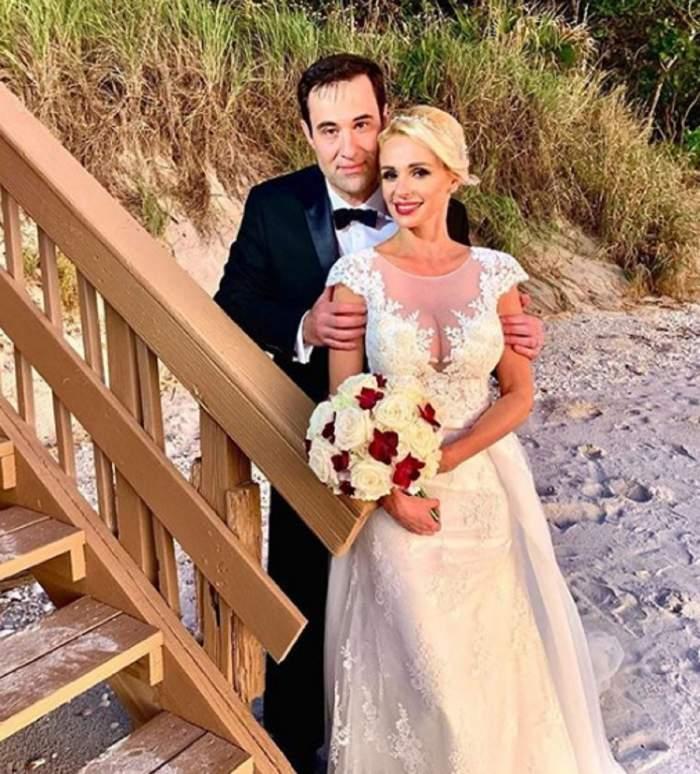 """Catrinel Sandu, primele declarații după nunta cu americanul Steve: """"S-a lăsat cu plânsete la un moment dat"""""""
