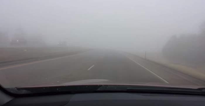Alertă meteo. Cod galben de ceață în șapte județe