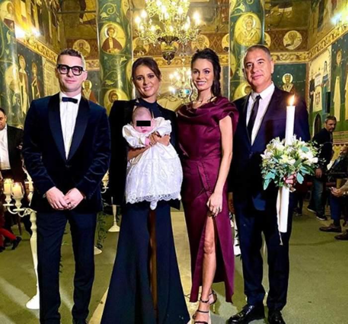 Surpriză din partea lui Adrian Sînă la botezul fiicei. Cum și-a impresionat invitații