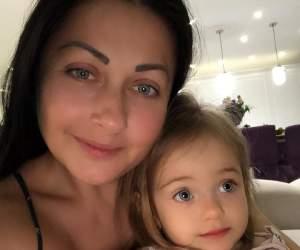 FOTO / Gabriela Cristea, surprinsă de fiica ei! Ce a putut să facă micuța Victoria, la numai 2 anișori
